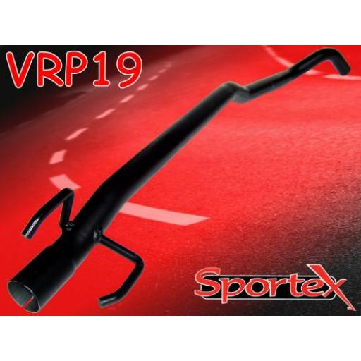 Sportex Vauxhall Tigra exhaust race tube 1.2i 1.4i 1.6i 1993-2000
