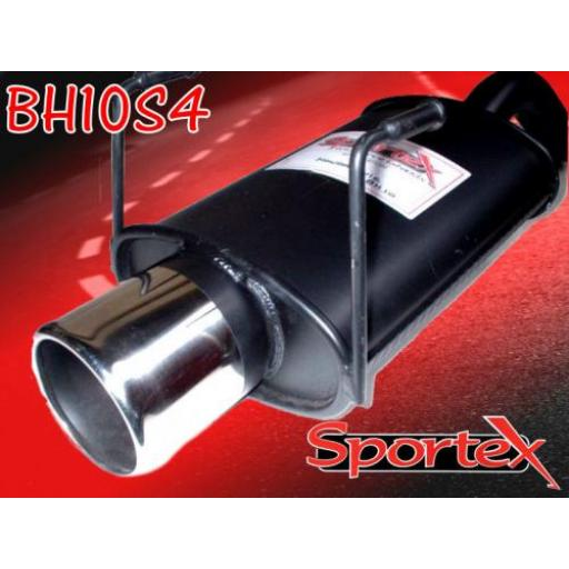 Sportex Honda Civic exhaust back box hatch 1991-2000 S4