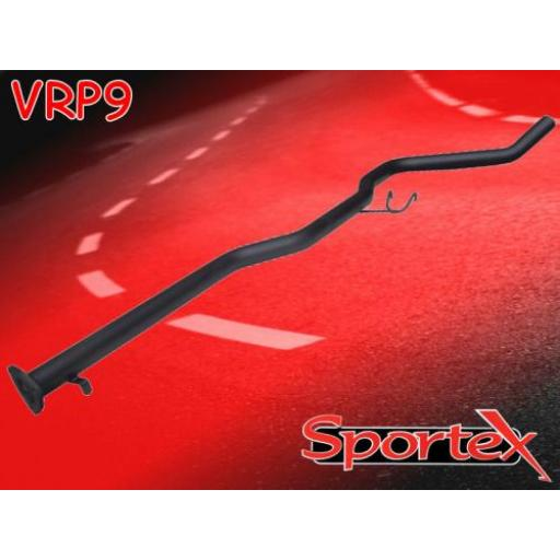 Sportex Vauxhall Calibra exhaust race tube 1993-1998