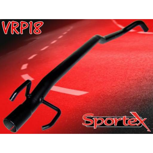 Sportex Vauxhall Corsa B exhaust race tube 1.0i 1993-2000