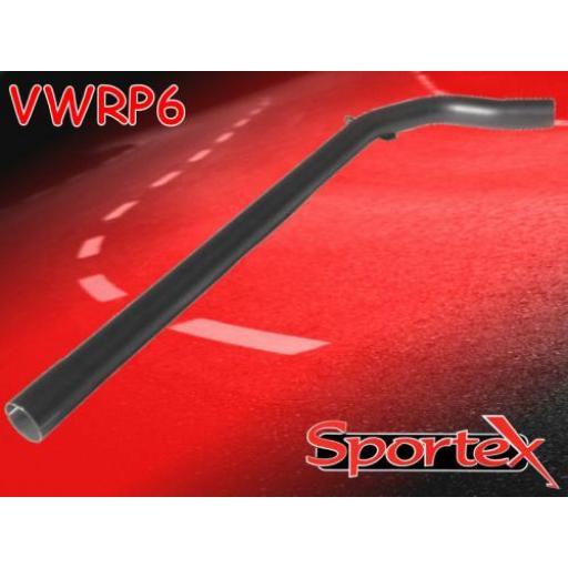 Sportex VW Polo exhaust race tube 1.4i 16V 1996-2000