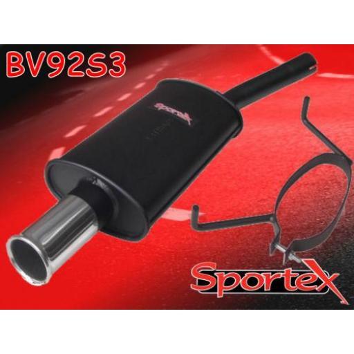 Sportex Vauxhall Astra mk5 exhaust back box hatch 2005-2010 S3