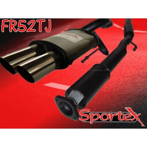 Sportex Renault Clio exhaust system 2.0i 172 Sport TJ