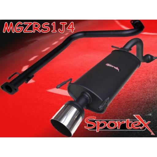 Sportex MG ZR performance exhaust system 2001-2005- J4