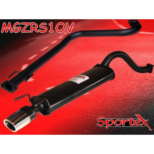 Sportex MG ZR performance exhaust system 2001-2005- OV