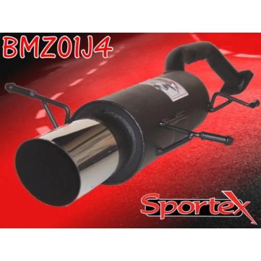 Sportex Mazda MX3 exhaust back box 1991-1999 J4