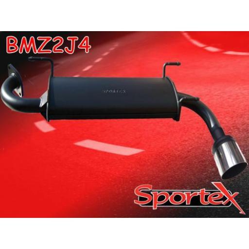 Sportex Mazda MX5 exhaust back box 1.6i 1.8i 1998-2005 J4