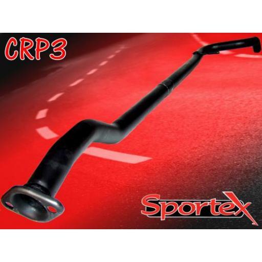 Sportex Citroen C2 exhaust race tube 1.4i 1.6i 2003-