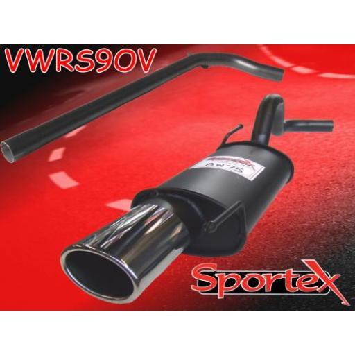Sportex VW Polo performance exhaust system 1994-10/2001 OV