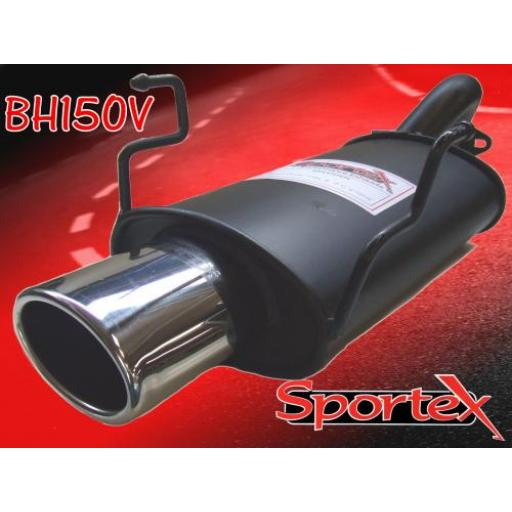 Sportex Honda Civic Type R exhaust back box EP3 2001-2006 OV