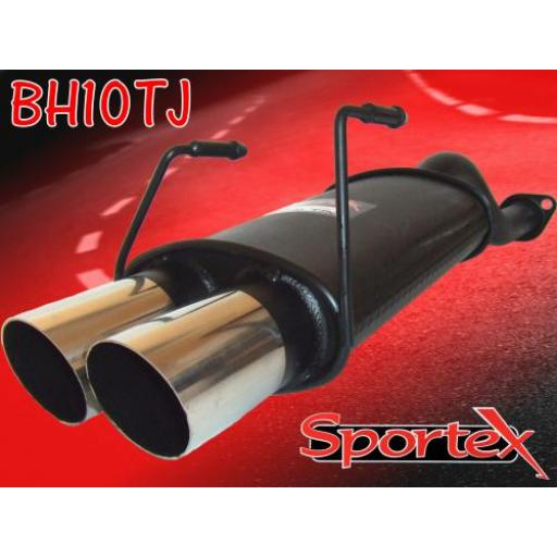 Sportex Honda Civic exhaust back box hatch 1991-2000 TJ