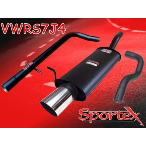 Sportex VW Golf mk4 performance exhaust system 1997-2004 J4