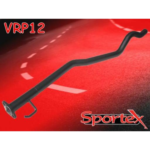 Sportex Vauxhall Astra mk3 exhaust race tube 1996-1998