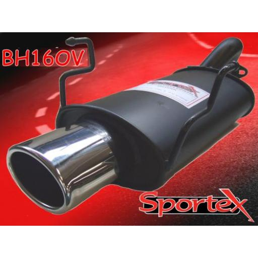 Sportex Honda Civic exhaust back box hatch 2001-2006 OV