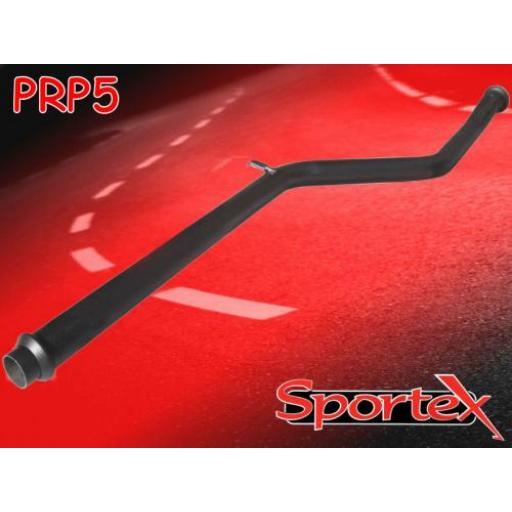 Sportex Peugeot 206 exhaust race tube 1998-2000