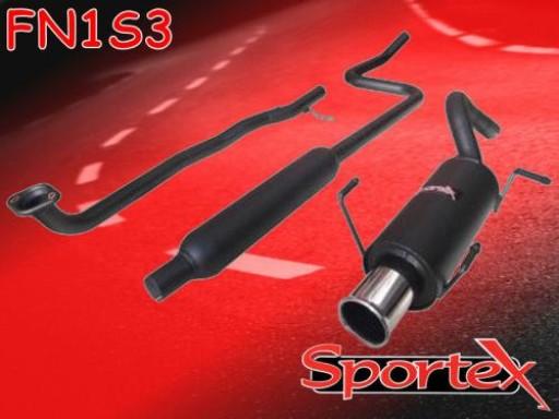 Sportex Nissan Micra performance exhaust system 1992-1999 S3