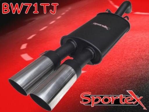 Sportex VW Golf exhaust back box 1.8 GTi 8v 1984-1992 TJ