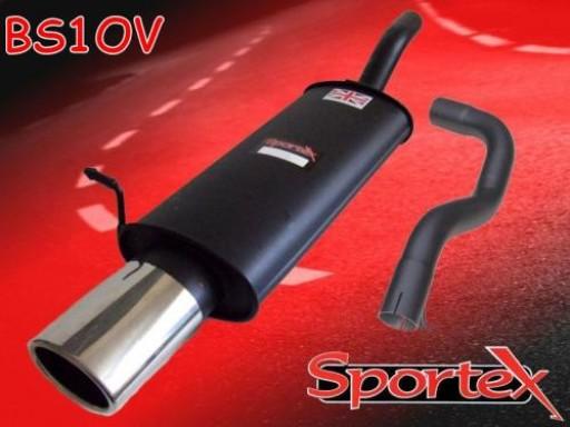 Sportex Seat Leon 1.8T exhaust back box 2000-2005 OV