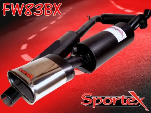 Sportex VW Golf performance exhaust system 1.8GTi 16v BX