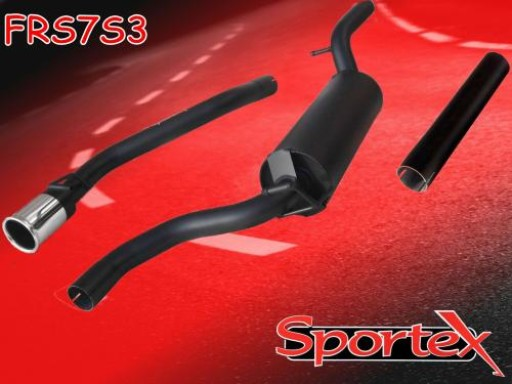 Sportex Ford Focus Race Tube exhaust system 1.6i 1998-2004- S3