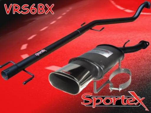 Sportex Vauxhall Astra mk4 performance exhaust system 1998-2003 BX