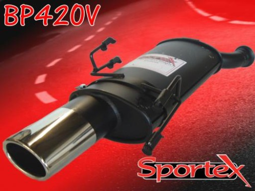 Sportex Peugeot 306 exhaust back box 1993-2002 OV