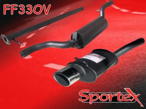 Sportex Ford Focus performance exhaust system 1.8i 2.0i 1998-2004 OV