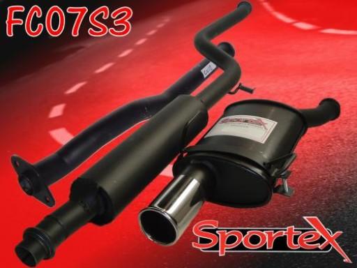 Sportex Citroen Saxo performance exhaust system 1.1 1.4 1.6 00-03 S3