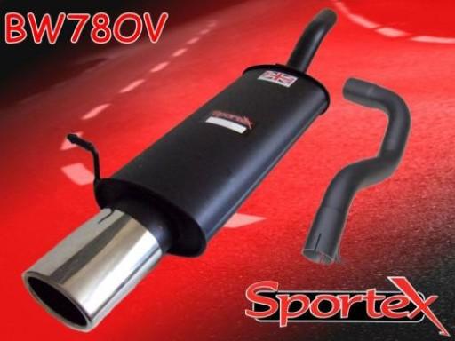 Sportex VW Golf mk4 1.8 GTi 125bhp exhaust back box 1997-1999 OV