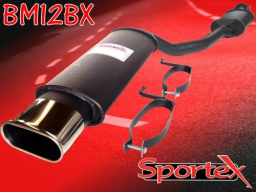 Sportex BMW 3 series exhaust back box 318iS 1992-1998 BX