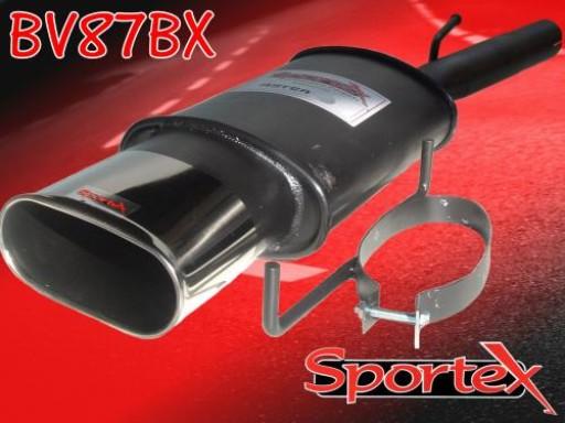 Sportex Vauxhall Astra mk4 exhaust back box 2003-2005 BX