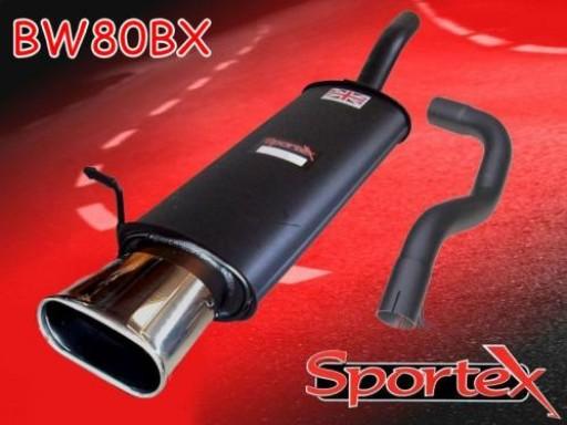 Sportex VW Golf mk4 2.0i GTi exhaust back box 2001-2004 BX