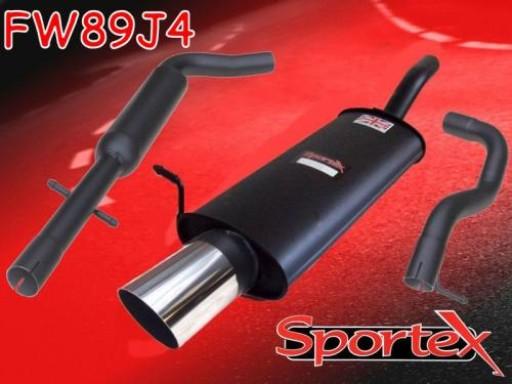 Sportex VW Golf exhaust system 1997-2004 J4