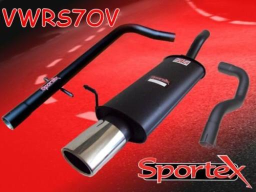 Sportex VW Golf mk4 performance exhaust system 1997-2004 OV
