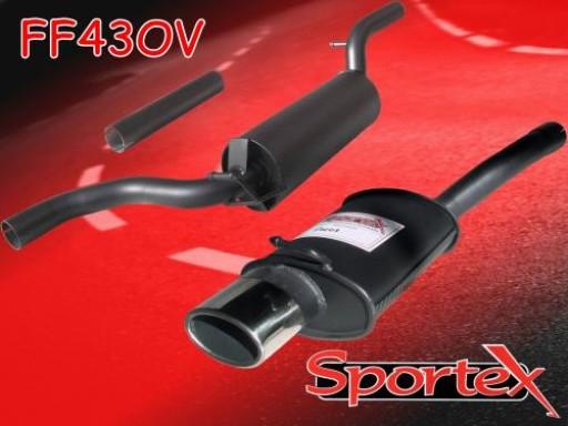 Sportex Ford Focus performance exhaust system 1.4i 1998-2004 OV