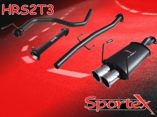 Sportex Honda Civic performance exhaust system 1991-2001- T3