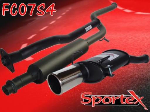 Sportex Citroen Saxo performance exhaust system 1.1 1.4 1.6 00-03 S4