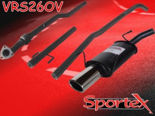Sportex Vauxhall Corsa C performance exhaust system 2003-2006 OV
