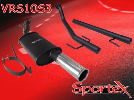 Sportex Vauxhall Astra mk4 performance exhaust system 1998-2003 S3