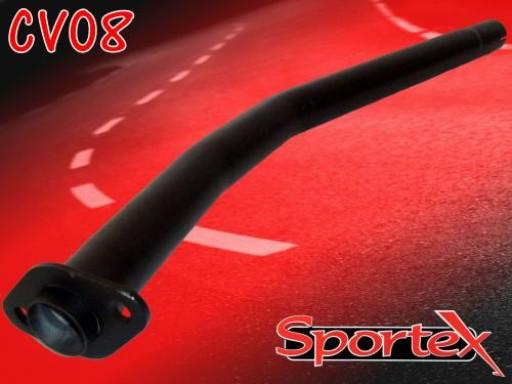 Sportex Vauxhall Corsa B exhaust decat pipe 1994-2000