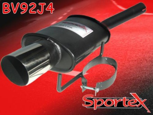 Sportex Vauxhall Astra mk5 exhaust back box hatch 2005-2010 J4