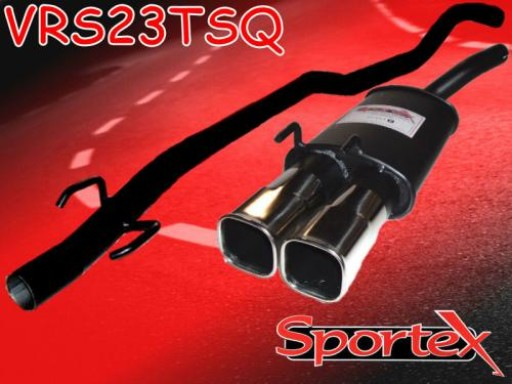 Sportex Vauxhall Corsa B performance exhaust system 1993-2000 TSQ