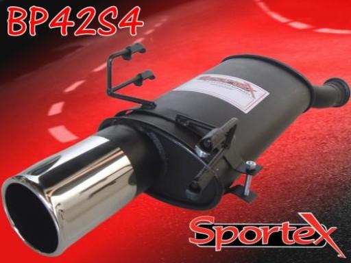 Sportex Peugeot 306 exhaust back box 1993-2002 S4