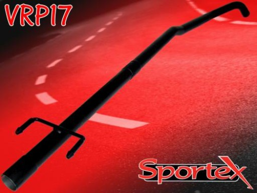Sportex Vauxhall Corsa C exhaust race tube 1.0i 2000-2006