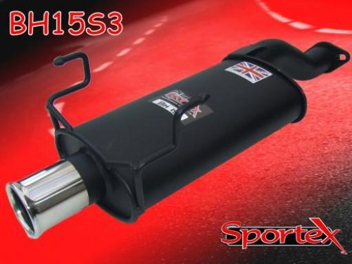 Sportex Honda Civic Type R exhaust back box EP3 2001-2006 S3