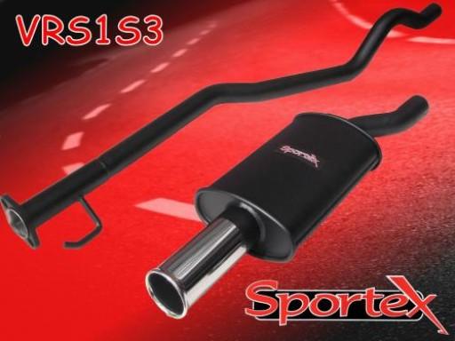 Sportex Vauxhall Astra mk3 performance exhaust system 1991-1996 S3