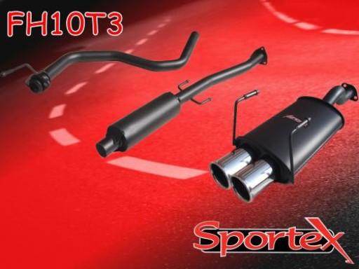 Sportex Honda Civic performance exhaust system 1991-2001 T3