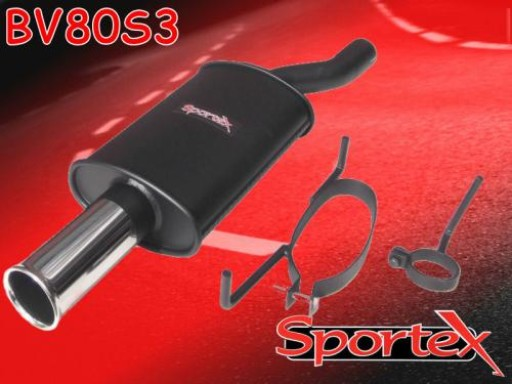 Sportex Vauxhall Astra exhaust back box 1996-1998 S3