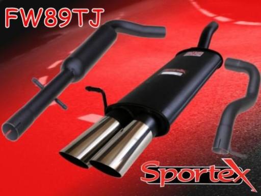 Sportex VW Golf exhaust system 1997-2004 TJ