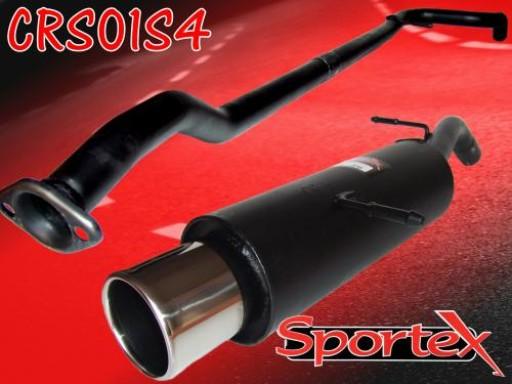 Sportex Citroen C2 performance exhaust system 1.1i 1.4i 1.6i 2003- S4